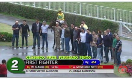 First Fighter, mais um ganhador clássico em SP