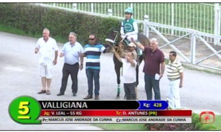 Valligiana, vencedora em São Paulo