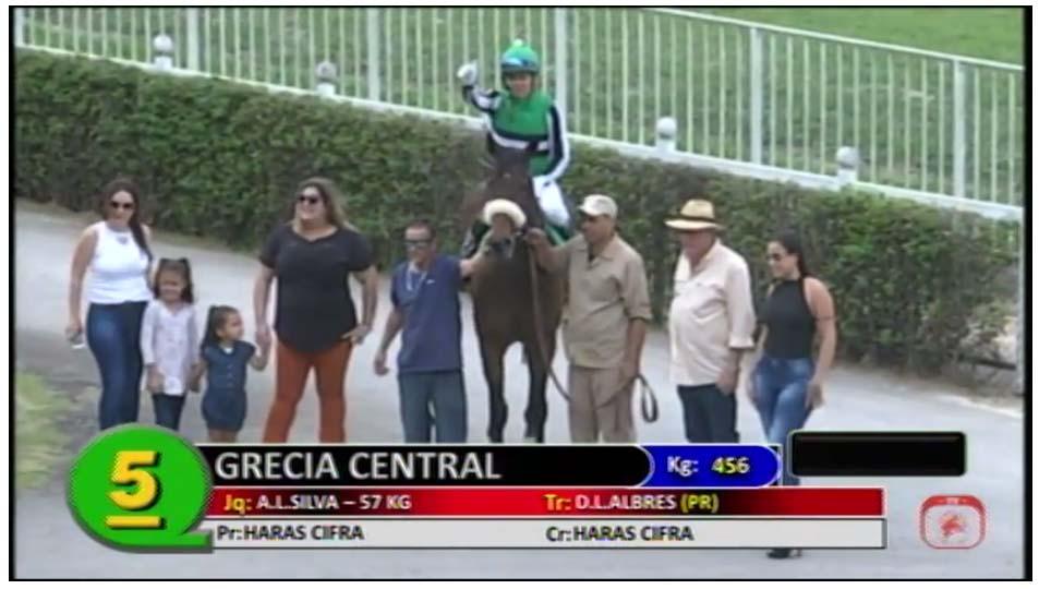 Grécia Central conquista mais uma vitória em Cidade Jardim