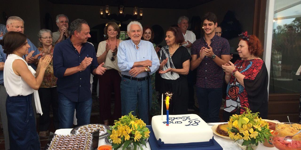 Italo Fernando Trombini completa 85 anos