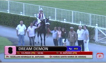 Dream Demon vence em Cidade Jardim