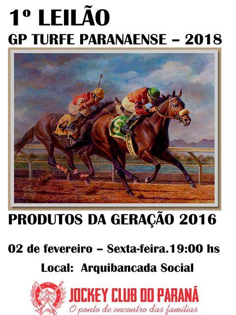 Catálogo do Leilão do GP Turfe Paranaense